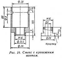 Рис. 14. Степс с крепежным винтом