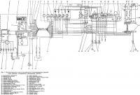Рис. 1. Принципиальная схема распределения электроэнергии катера с бензиновым двигателе