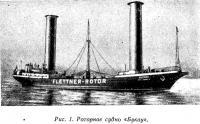 Рис. 1. Роторное судно «Букау»