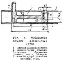 Рис. 1. Выдвижная втулка привального бруса