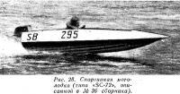 Рис. 28. Спортивная мотолодка типа SC-72