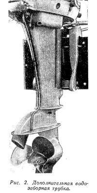 Рис. 2. Дополнительная водозаборная трубка