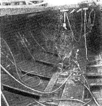 Рис. 2. Кокпит яхты