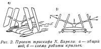 Рис. 2. Проект трискафа X. Баркла