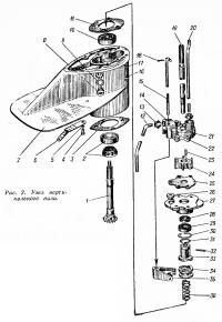 Рис. 2. Узел вертикального вала