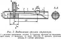 Рис. 2. Выдвижная втулка стрингера