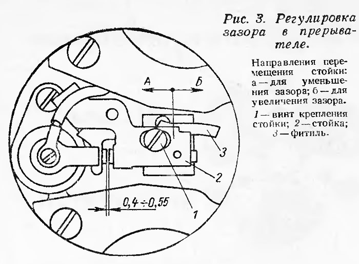 регулировка зажигания лодочного мотор