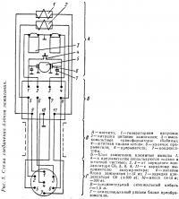 Рис. 3. Схема соединения блоков зажигания