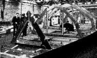 Рис. 3. Система рамных шпанготов Пан Дюик III