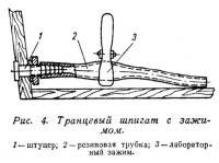 Рис. 4. Транцевый шпигат с зажимом