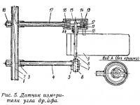Рис. 5. Датчик измерителя угла дрейфа