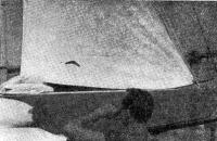 Рис. 5. Для стакселей модели 1966 года характерно низкое расположение шкотового угла