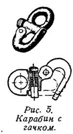 Рис. 5. Карабин с гачком