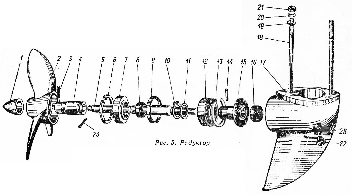 Редуктор ветерок схема
