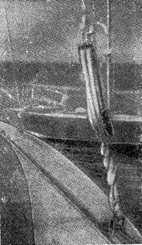 Рис. 5. Узел крепления бакштагов
