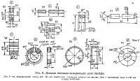 Рис. 6. Детали датчика измерителя угла дрейфа