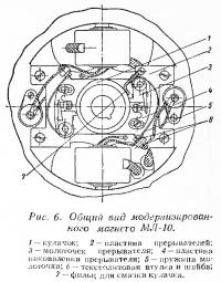 Рис. 6. Общий вид модернизированного магнето МЛ-10