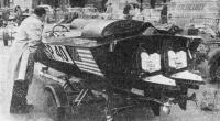 Рис. 7. Американский катер с колонками «Меркрусер»