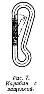 Рис. 7. Карабин с защелкой