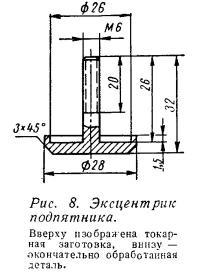 Рис. 8. Эксцентрик подпятника