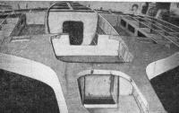Рис. 8. Система балочек — мостик сотовой конструкции