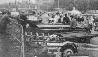 Рис. 8. Стоянка участников на набережной Сены