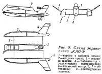 Рис. 9. Схема экраноплана KAG-3