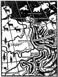Рисунок маршрута на карте