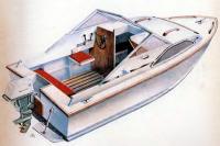 Рисунок мини-катера «Арго-73»