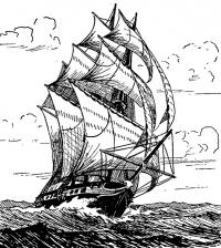 Рисунок нашего читателя Б. Б. Керта