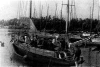 «Росток» в гавани яхт-клуба ЛВМБ
