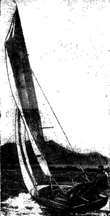 Самый большой парусник из АБС-пластика — швертбот «Трайнер»
