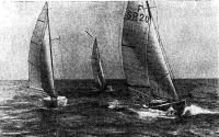 Саратовская эскадра в открытом море