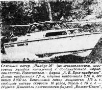 Семейный катер «Нимбус-26»