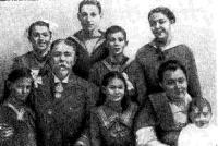 Семья капитана Кондратьева. Снимок 1918 года