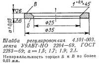 Шайба регулировочная 4.101-003