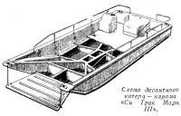 Схема десантного катера — парома «Си Трак Марк III»