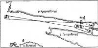 Схема дистанции фигурных гонок С.-Петербургского парусного клуба