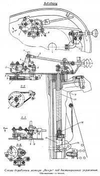 Схема доработки мотора Вихрь под дистанционное управление
