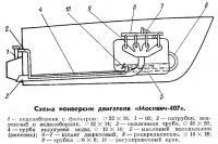 Схема конверсии двигателя «Москвич-407»