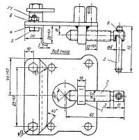 Схема крепления дистанционного управления