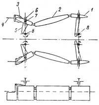 Схема работы катамарана