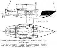Схема расположения «Норуемы-VII»