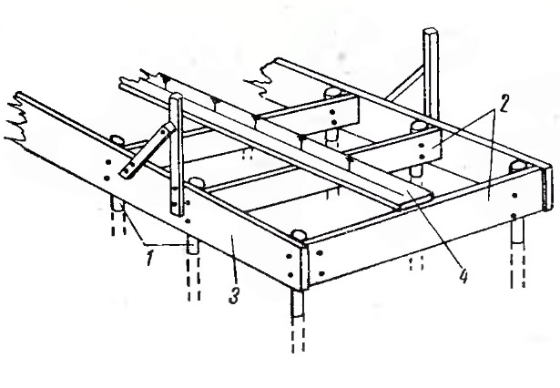 Схема стапеля