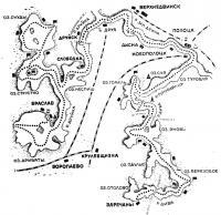 Схема туристского маршрута