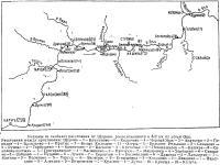 Схема участка Коломна — Калуга
