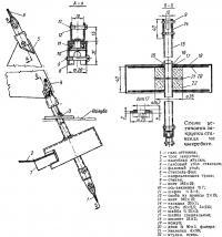 Схема установки закрутки стакселя на швертботе