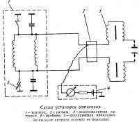 Схема установки зажигания