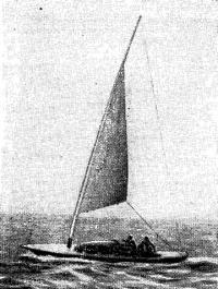 Шхерный крейсер с парусами Люнгстрома