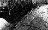 Штукатурка «болвана» — пуансона для формования оболочки корпуса